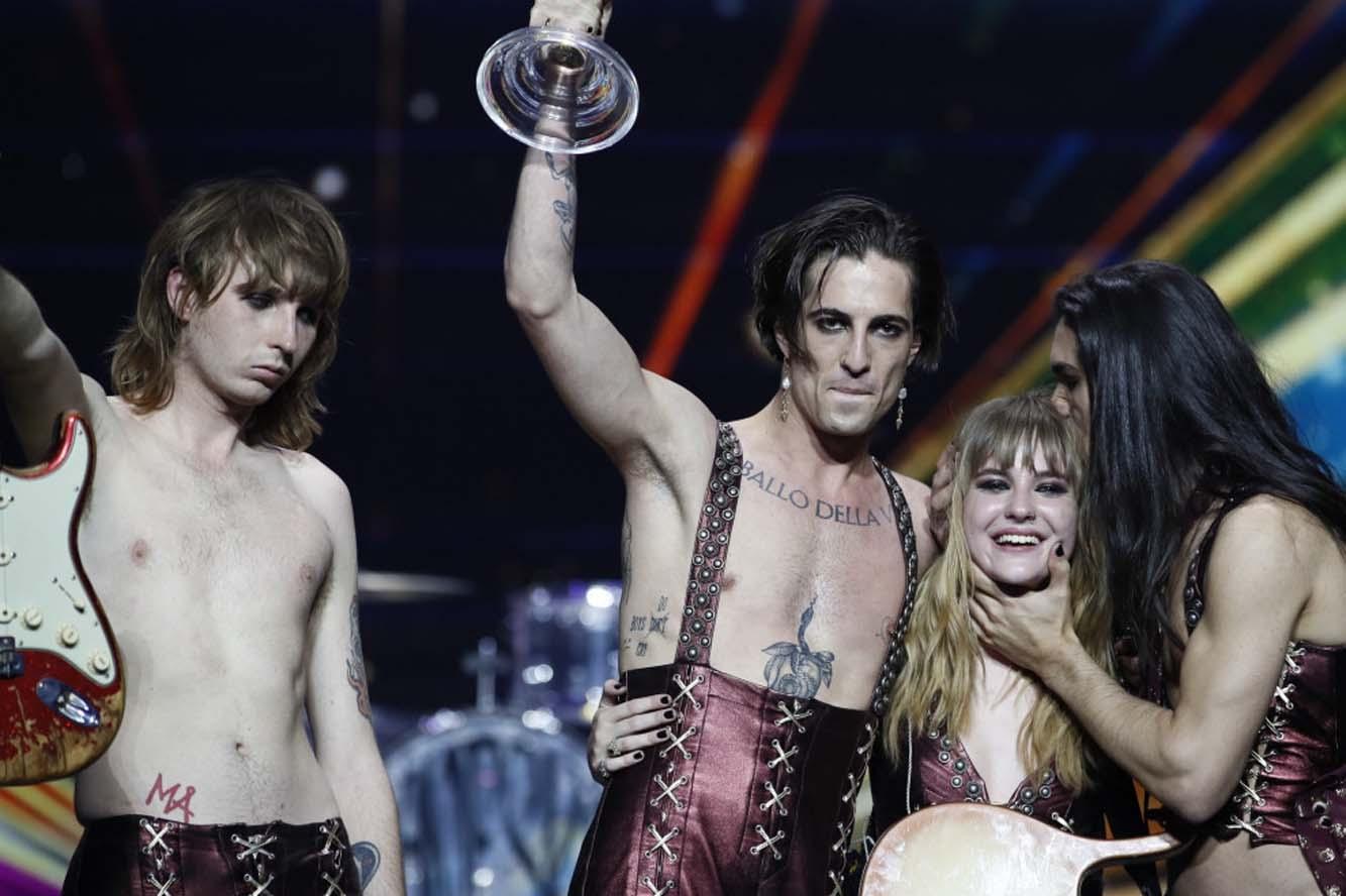 Måneskin vinder Eurovision Song Contest 2021
